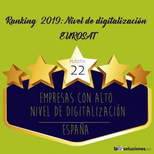 Ranking de Eurosat de digitalización